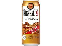 合同酒精 GODO ハイボール9% 缶500ml