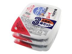 サトウ食品 サトウのごはん 会津産コシヒカリ パック200g×3
