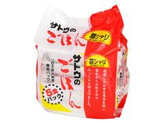 佐藤食品工業 サトウのごはん 銀しゃり国内産米100%