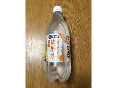 みなさまのお墨付き 木曽の天然水仕立て 炭酸水 みかん ペット500ml
