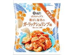 みなさまのお墨付き ポテトチップス 香ばし海老のガーリックシュリンプ味 袋60g