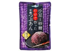 miwabi 小豆と砂糖だけで作った有機つぶあん 袋300g