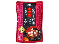 miwabi 小豆と砂糖だけで作った有機こしあん 袋300g