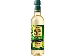 メルシャン おいしい酸化防止剤無添加白ワイン 厳選素材 プレミアム ペット720ml