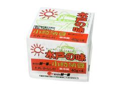 朝一番 水戸の味 小粒納豆 パック40g×4