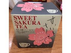 日本緑茶センター スイートサクラティー 桜花、桜葉入りアールグレイ 箱2g×10