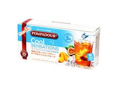 日本緑茶センター ポンパドール クールセンセーション ピーチ&パッションフルーツ 箱20g