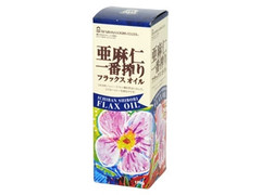 紅花食品 亜麻仁一番搾りフラックスオイル 箱170g