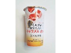 HOKUNYU 濃いミルクがおいしいキャラメルオレ カップ180g