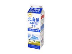 HOKUNYU 北海道函館3.8牛乳 パック1L