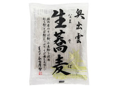 本田商店 奥出雲生蕎麦 つゆ付 袋360g