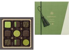 メリーチョコレートカムパニー KANADE 日本茶コレクション 箱9個