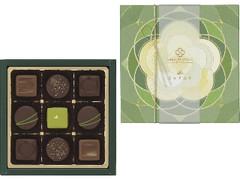 メリーチョコレートカムパニー SAISON DE SETSUKO Le JAPON 日本茶のショコラ 箱9個