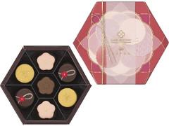 メリーチョコレートカムパニー SAISON DE SETSUKO Le JAPON 和菓子のショコラ 箱7個