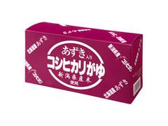 ヒカリ あずき入りコシヒカリがゆ 3缶セット 箱280g×3