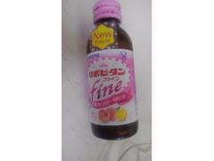 大正製薬 リポビタンファイン 低カロリー ピーチ&グレープフルーツ風味 瓶100ml