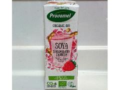 ベルギー産(メーカー不明) プロヴァメル オーガニック豆乳飲料 ストロベリー味 250ml