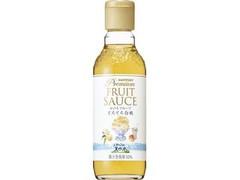 サントリー 南アルプスの天然水 プレミアムフルーツソース とろとろ白桃 瓶300ml