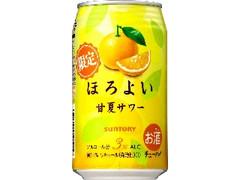 サントリー チューハイ ほろよい 甘夏サワー 缶350ml