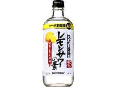 サントリー こだわり酒場のレモンサワーの素 瓶500ml