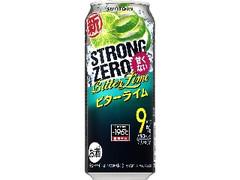 サントリー -196℃ ストロングゼロ ビターライム 缶500ml