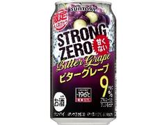サントリー -196℃ ストロングゼロ ビターグレープ 缶350ml