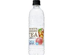 サントリー 天然水 PREMIUM MORNING TEA 白桃 ペット550ml