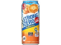 サントリー -196℃ ストロングゼロ 冷凍みかん 缶500ml