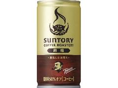 サントリー ボス サントリーコーヒーロースタリーズ 微糖 缶185g