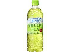 サントリー 天然水 GREEN TEA ペット600ml