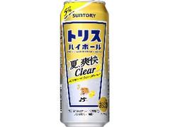 サントリー トリスハイボール 夏、爽快Clear 缶500ml