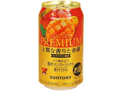 サントリー こくしぼりプレミアム 贅沢マンゴーミックス 缶350ml