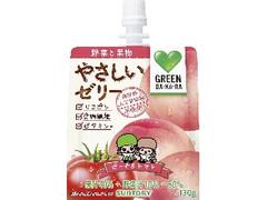 サントリー GREEN DA・KA・RA やさしいゼリー ピーチ&トマト 袋130g