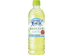 サントリー 天然水 澄みわたるお茶 ペット600ml