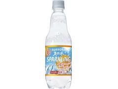 サントリー 天然水スパークリング 無糖ドライオレンジ