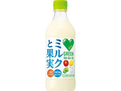 サントリー GREEN DA・KA・RA ミルクと果実 ペット430ml