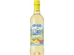サントリー 氷と楽しむおいしいワイン。 酸化防止剤無添加 トロピカルフルーツMIX
