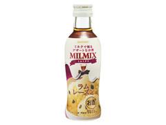 サントリー ミルクで割るデザートなお酒 MILMIX ラムレーズン 瓶200ml