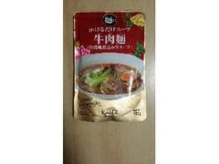 カルディ 麺にかけるだけスープ 牛肉麺 袋160g