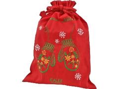 カルディ オリジナル クリスマス刺繍ノエルバッグ 袋4個