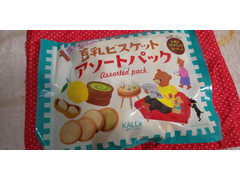 カルディ 豆乳ビスケットアソートパック レモン・抹茶ミルク・ピーナッツ