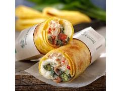 スターバックス ホットサラダラップ スピナッチ&チーズ