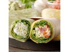 スターバックス サラダラップ 2種 生ハムモッツァレラ&バジルチキン