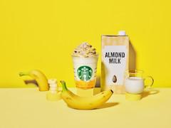 スターバックス バナナンアーモンドミルク フラペチーノ