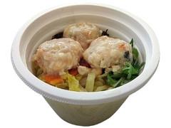セブン-イレブン 鶏つくねの生姜スープこんにゃく麺入り