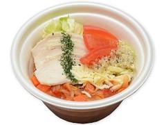 セブン-イレブン 野菜を食べよう!蒸し鶏とトマトのスープ