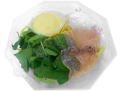 セブン-イレブン 生ハムと半熟玉子の冷製カルボソースパスタ