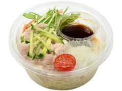 セブン-イレブン 野菜たっぷり!豚しゃぶパスタサラダ