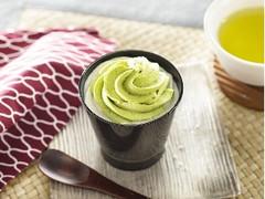 セブン-イレブン ダブルクリームの宇治抹茶ミルクプリン