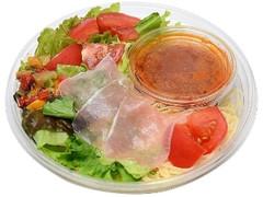 セブン-イレブン 1/2日分野菜冷たいパスタ生ハムとトマト